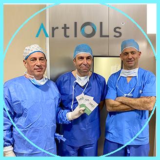 Primeros implantes ArtIOLs